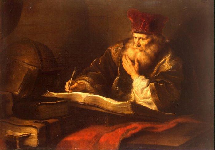 koninck_salomon-zzz-an_old_scholar